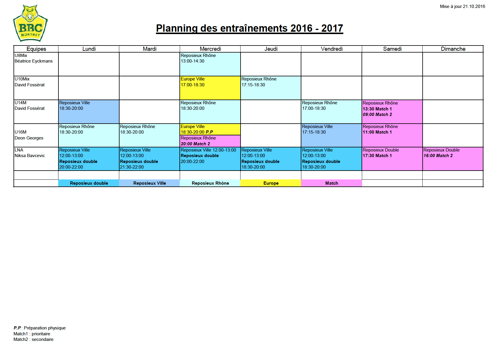 planning-training
